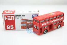 NEW Takara Tomica Tomy #95 London Bus PET WORLD Car Scale 1:130 Diecast Toy Car
