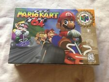Factory Sealed Nintendo 64 Mario Kart Game 64 N64 MIB Mint Brand New In Box