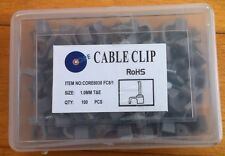 100 X CABLE CLIPS FOR 1mm TWIN & EARTH 6242Y T&E BRAND NEW
