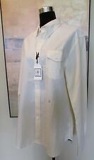 NWT J. Press Yellow Seersucker Long Sleeve Button Down Shirt Sz L