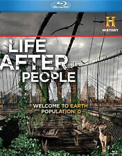 LIFE AFTER PEOPLE - BLU RAY - Region A - Sealed