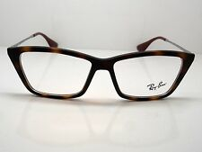 NEW Authentic Ray Ban RB 7022 5365 Shirley Matte Tortoise 52mm RX Eyeglasses