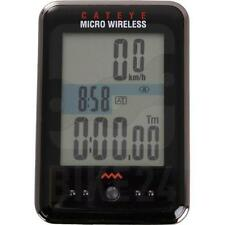 CATEYE MICRO WireLess Cycle Computer Speed Bicycle Bike Cycle BLACK CC-MC200