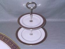 "Royal Doulton ""Rochelle"" 2-Tier Hostess China Cake Plate Stand H.5024"