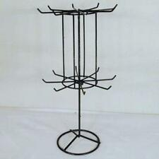 SPINNING JEWELRY DISPLAY RACK 16 IN BLACK racks toy NECKLACE BRACELET NEW