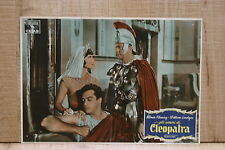 GLI AMORI CLEOPATRA fotobusta poster Rhonda Fleming Burr Serpent of the Nile