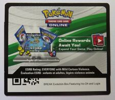 BREAK Evolution Box (Ft. Ho-Oh and Lugia) Online Bonus Code - Pokemon TCG