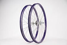 "Purple Beach Cruiser 26"" Rims W/Coaster Brake Front & Rear Wheels"