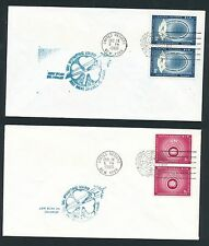 82544) Irland Ireland FF UNO New York - Shannon 14.12.60, 2 covers diff. arrival