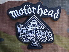 ECUSSON PATCH toppa aufnaher THERMOCOLLANT MOTORHEAD ace of spade  /11.3 x 10cm