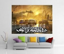 NEED FOR SPEED MOST WANTED XBOX PS3 WII U GIANT WALL ART PRINT POSTER H127