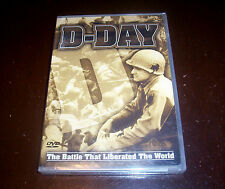 D-DAY World War II Normandy Invasion WWII Operation Overlord June 6th  DVD NEW