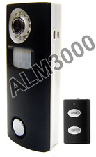 2-In-1 Solar-Powered Indoor Motion Alarm Camera + IR Remote + Night Vision + DVR