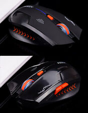 Wireless 6D 2.4GHz Ricaricabile 2400DPI X3 6 Pulsanti Ottico Usb Gaming Mouse