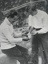 Georges Carpentier And Antoine Boyer 1914 Photo Article 9205