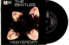 "THE BEATLES - YESTERDAY - EP 7"" 45 VINYL RECORD PIC SLV"
