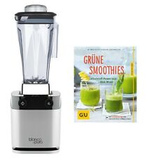 "Standmixer Bianco di puro Volto Silber inkl. Buch ""Grüne Smoothies"""