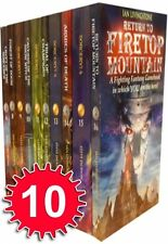NEW Titles of Fighting Fantasy Series Collection 10 Books Set Steve Jackson