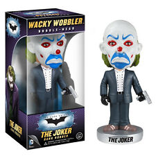 FUNKO BATMAN DARK KNIGHT JOKER BANK ROBBER WACKY WOBBLER BOBBLE HEAD TOY
