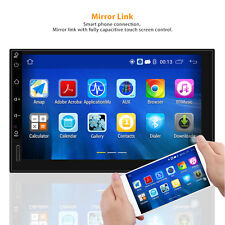 "7"" Android 5.1 Autoradio Bluetooth Nav2 DIN USB GPS 3G WIFI USB Car Player"