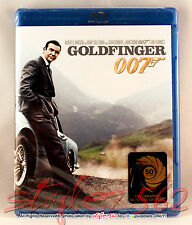 Goldfinger-James Bond 007 (Blu-ray, 50th Anniversary)*BRAND NEW*SEALED