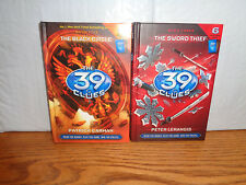 2 - The 39 Clues Hardcover Books - # 5 Black Circle # 3 Sword Thief