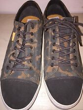 POINTER CANVAS AND LEATHER CAMO SEEKER MEN'S SIZES 10.5 MED