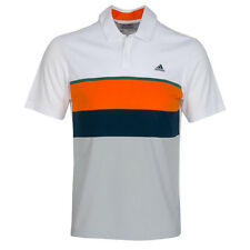 Adidas Climacool Engineered Stripe Polo (M) AF0888 White