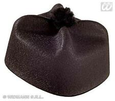 Adult Parish Priest Felt Hat Religious Fancy Dress Costume Accessory