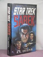 1st, signed by author, Star Trek: Sarek by A C Crispin (1994) hardback