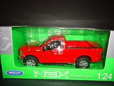 Welly Ford F150 Regular Cab 2015 Red 1/24
