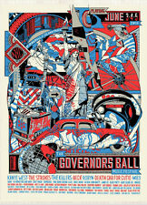 The Governors Ball NYC 16 AE Stout Poster Kanye The Strokes Killers Beck Robyn
