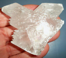 "#1. ""WHOLESALE PRICE"" RARE FISHTAIL SELENITE CRYSTAL SPECIMEN FROM CANADA"