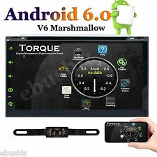 "Quad Core Android 6.0 4G Wifi 7""Double 2Din Car Radio Stereo Dvd Player Gps Navi"