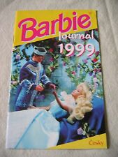 1999 BARBIE JOURNAL Czech Republic