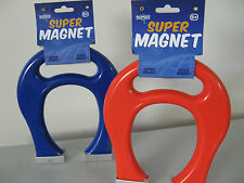 MAGNET SUPER SIZE HAND GRIP HORSESHOE MAGNET DISCOVERY FUN SCIENCE EDUCATION