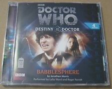 Doctor Who - Babblesphere Audio Book Cd Lalla Ward Roger Parrott 4TH Doctor MINT
