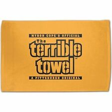 Original Terrible Towel NFL Pittsburgh Steelers Myron Cope Official Gold Towel