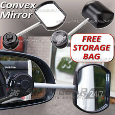 Car Van 4x4 Suck-It Suction Caravan Convex Glass Towing Extension Wing Mirror