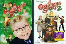 CHRISTMAS STORY 1-2: Darren McGavin- Daniel Stern- Family Classics- NEW 2 DVD