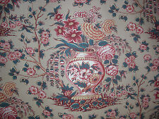 G.P. & J. Baker LTD Fabric THE BOW ROOM Printed in ENGLAND SOLD by Yard