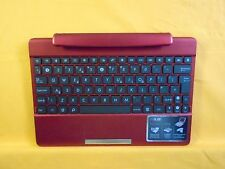 ASUS TRANSFORMER EEE PAD TF300 TF300T + z uk tablette clavier dock rouge 005