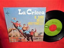 LA CRICCA Il Surf delle mattonelle 45rpm 7' + PS 1964 ITALY MINT
