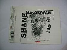 SHANE MACGOWAN - MY WAY - CD SINGLE EXCELLENT CONDITION 1996 - CUT OUT SLEEVE