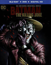 Batman: The Killing Joke (Blu-ray/DVD, 2016, Includes Digital Copy UltraViolet)