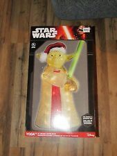 "STAR WARS HOLIDAY LIGHTED DECOR YODA 28"" INDOOR OUTDOOR CHRISTMAS LIGHTS"