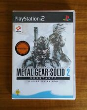 Metal Gear Solid 2 - Substance (Sony PlayStation 2, 2003, DVD-Box)