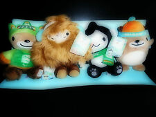 Official Vancouver 2010 Olympics Mascots ***Brand New Set with Tags Attached***