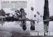 Coupure de presse Clipping 2004 Lance Armstrong  (6 pages)