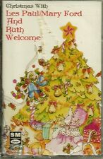 LES PAUL & RUTH WELCOME CHRISTMAS CASSETTE - SEALED, RARE (Capitol,1987)
